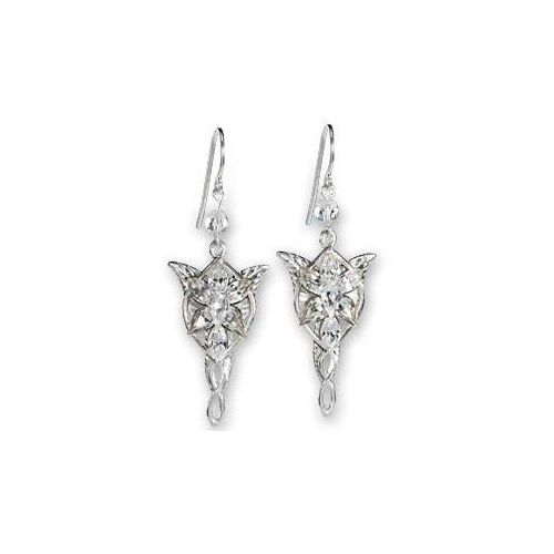 The noble collection Lotr arwens evenstar earrrings - srebrne kolczyki (nn2987)
