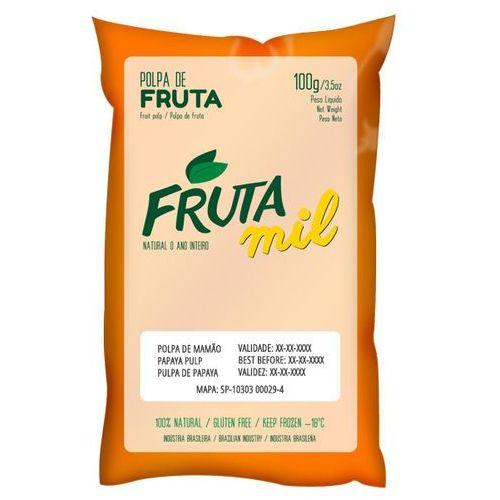 Papaja miąższ (puree owocowe, sok z miąższem) bez cukru marki Frutamil comércio de frutas e sucos ltda