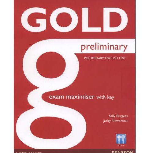 Gold preliminary exam maximiser with key (142 str.)