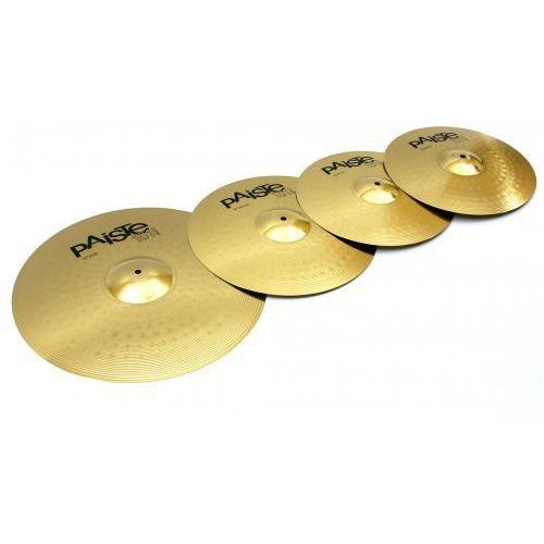 Paiste 101 14″hh 16″c 20″r zestaw talerzy perkusyjnych