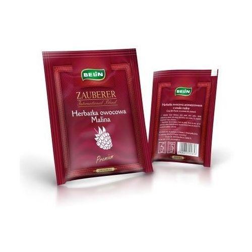 Zauberer . herbata owocowa malinowa koperta x 40 szt