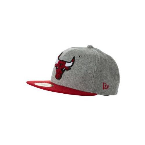 New Era 59FIFTY NBA CHICAGO BULLS Czapka z daszkiem gray/offical team color (nakrycie głowy, czapka)