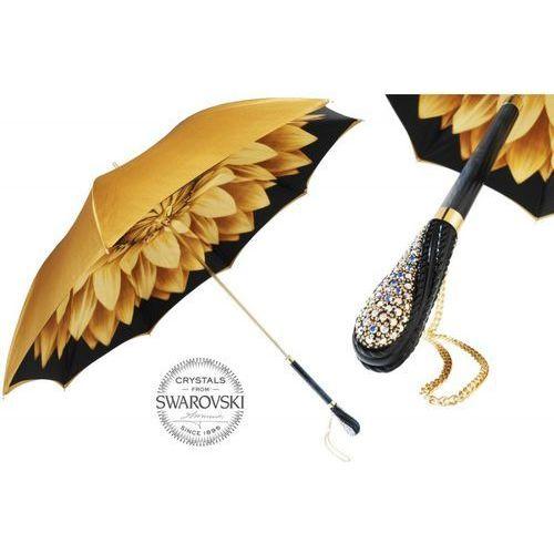 Parasol luxury gold dahlia marki Pasotti