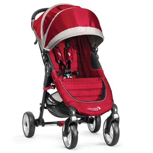 Wózek BABY JOGGER City Mini Single 4W Crimson/Gray + DARMOWY TRANSPORT!
