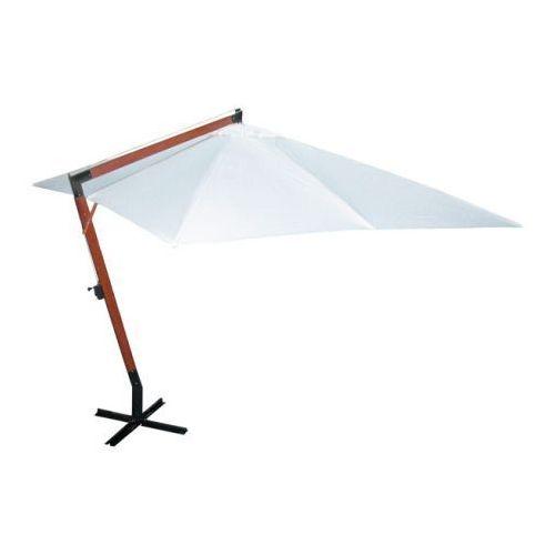 Parasol ogrodowy, 300x400cm, biały, vidaXL z VidaXL