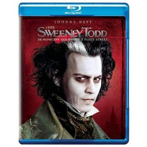 Tim burton Sweeney todd: demoniczny golibroda z fleet street (bd) premium collection (płyta bluray)
