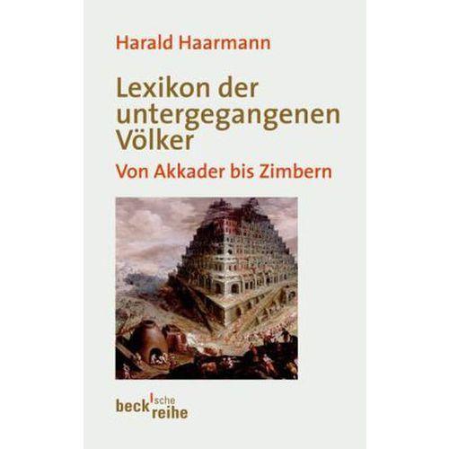 Lexikon der untergegangenen Völker (9783406634697)
