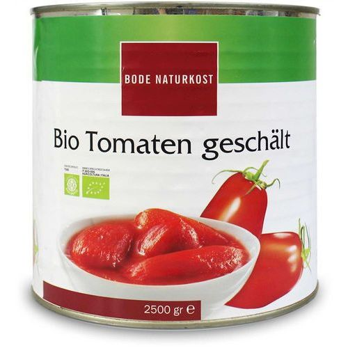 Pomidory bez Skóry BIO 2,5 kg Horeca Bode Naturkost (4026363210333)