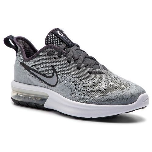 Buty NIKE Air Max Sequent 3 (GS) 922884 009 BlackUniversity RedWhite