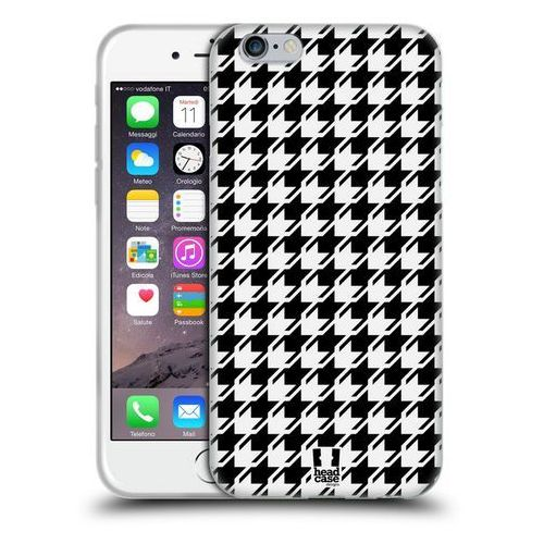Etui silikonowe na telefon - houndstooth patterns black marki Head case