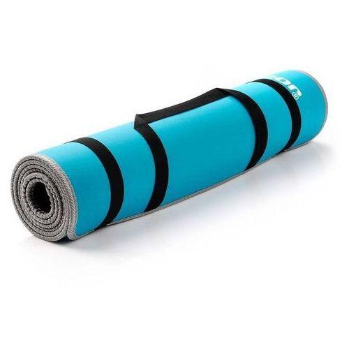 Meteor Mata do ćwiczeń fitness eva - niebieska 180x60x0,6cm - niebieski