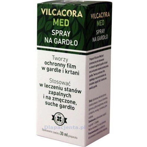 VILCACORA MED - Spray ochronny na gardło i krtań 30ml