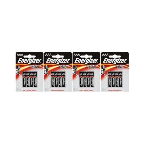 Zestaw ENERGIZER 4x ENERGIZER 4szt Baterie LRO03 Alkaline (AAA)