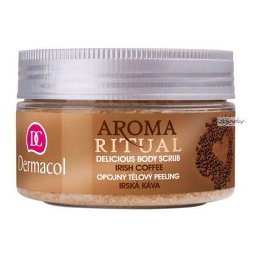 Dermacol - AROMA RITUAL - DELICIOUS BODY SCRUB - IRISH COFFEE - Scrub do ciała o zapachu irlandzkiej kawy (8590031099606)