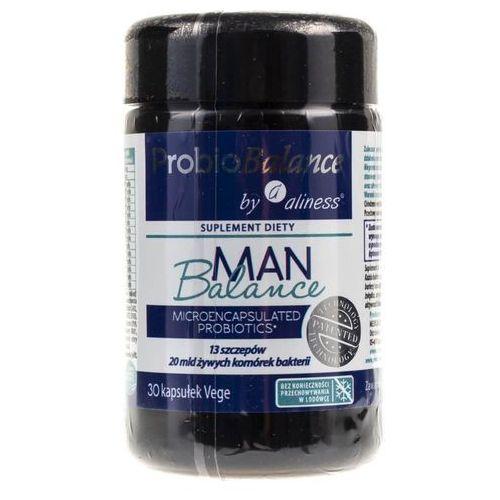 Kapsułki ProbioBalance Man Balance probiotyk - 30 kapsułek