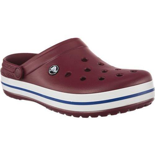 Chodaki Crocs Crocband Garnet White