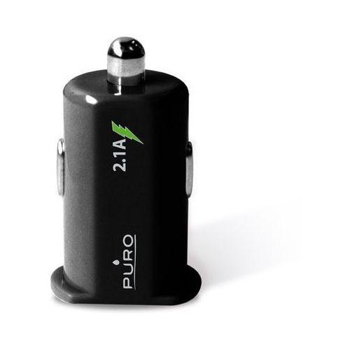 PURO Mini Car Charger 2xUSB 2.1 A czarna - szczegóły w Zadowolenie.pl