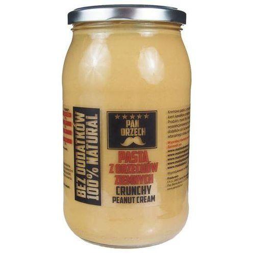 Pan orzech Pan zdrówko pasta z orzechów ziemnych crunchy - 900g (5902114249878)