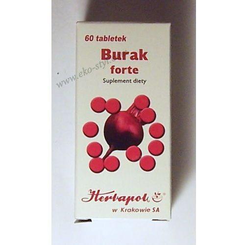 Herbapol - kraków Herbapol kraków, burak forte, 60 tabletek