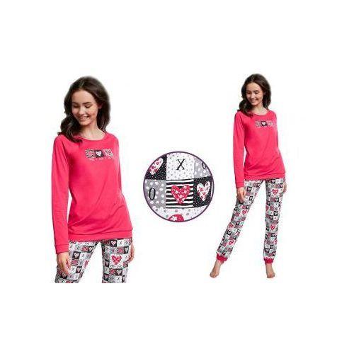 Piżama młodzieżowa KALIA: fuksja