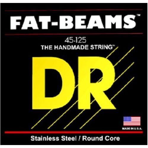 DR FAT BEAMS - struny do gitary basowej, 5-String, Medium,.045-.125