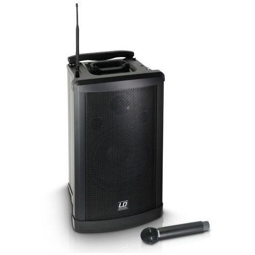 LD Systems Roadman 102 B6 (655 - 679 MHz) przenośny zestaw nagłośnieniowy z mikrofonem bezprzewodowym doręcznym