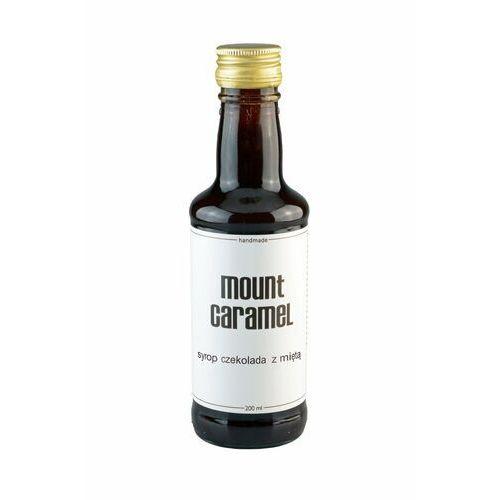 Mount caramel syrop czekolada z miętą 200ml