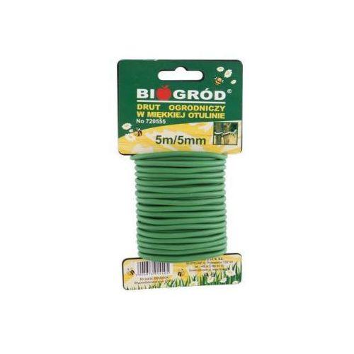 Drut ogrodniczy bioogrod 5m/5mm marki Bioogród