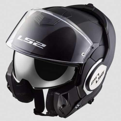 Kask motocyklowy ff399 valiant matt black marki Ls2