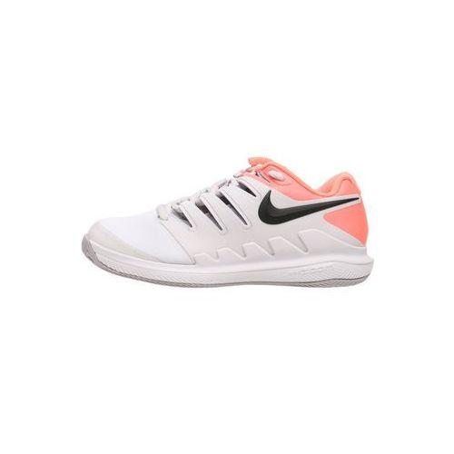 Nike Performance AIR ZOOM VAPOR X CLAY Obuwie do tenisa Outdoor vast grey/black/atmosphere grey/lava glow