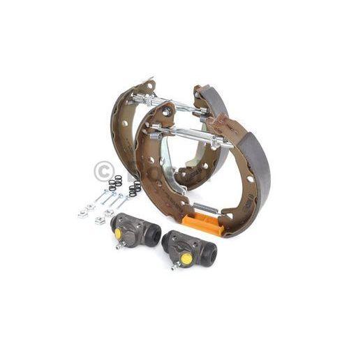 kit superpro, zestaw szczek hamulcowych + cylinderek hamulca koła; zamontowany; z tyłu, 0 204 114 114 marki Bosch