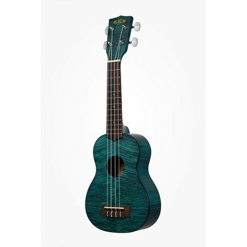 Kala Exotic Mahogany Soprano Ukulele Blue ukulele sopranowe + pokrowiec