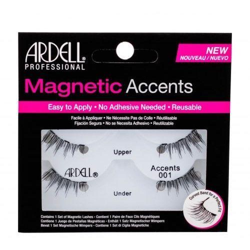 Ardell Magnetic Accents Accents 001 sztuczne rzęsy 1 szt dla kobiet Black
