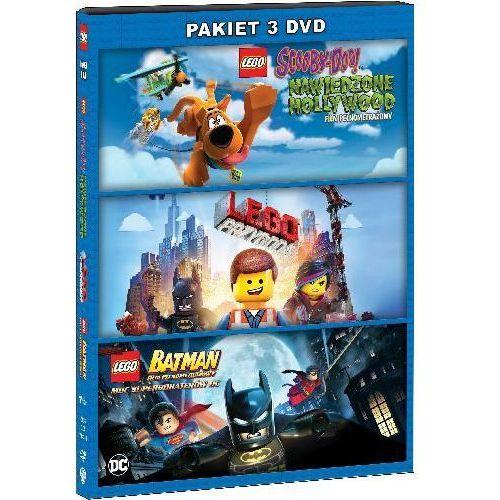 LEGO: PAKIET 3 FILMÓW (3DVD) (LEGO Scooby-Doo, LEGO Przygoda, LEGO Batman)