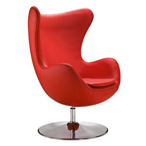 Designerski fotel do salonu inspirowany projektem Egg Arne Jacobsena Casella (fotel)