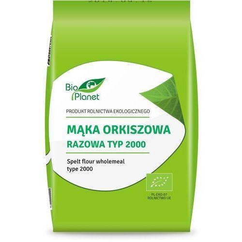 Bio planet - seria mąki i skrobie Bio planet mąka orkiszowa razowa typ2000 1kg (5907814664822)