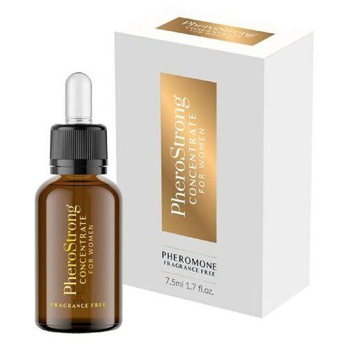 PheroStrong - Fragrance Free koncentrat dla kobiet 7,5 ml