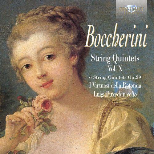 Brilliant classics Boccherini: string quintets op. 29, vol. x (5028421949611)