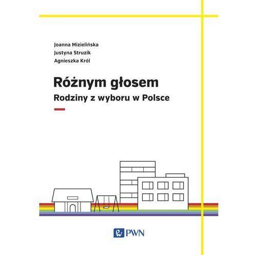 Różnym głosem. Rodziny z wyboru w Polsce - Joanna Mizielińska, Wydawnictwo Naukowe Pwn