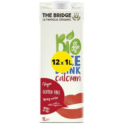 Napój Ryżowy z Wapniem Zestaw 12 x 1L - The Bridge - EKO