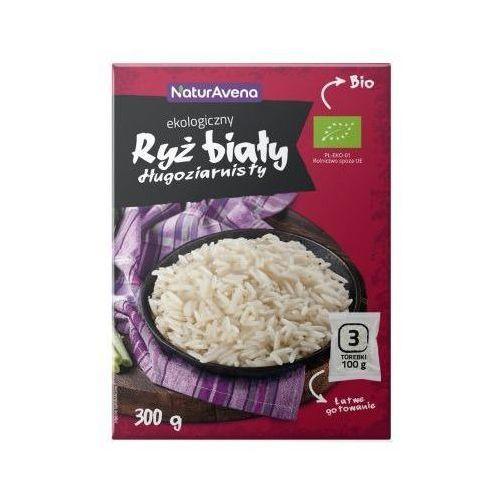 Naturavena Ryż biały długoziarnisty bio 3x100g -