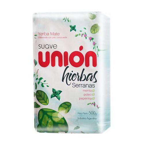 Yerba mate suave union hierbas serranas 500g marki Yerba mate taragui, argentyna