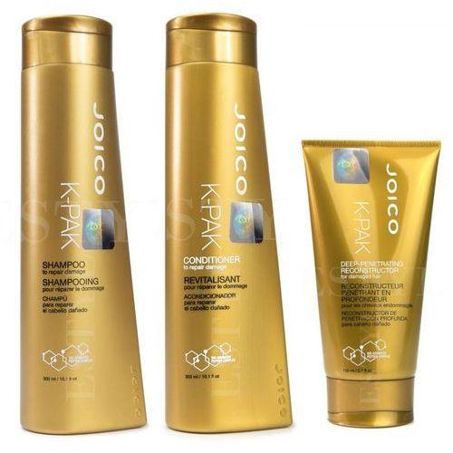 Joico K-Pak | Zestaw regenerujący: szampon 300ml + odżywka 300ml + maska 150ml (9753197531607)