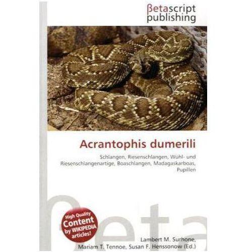 Acrantophis dumerili (9786131042423)
