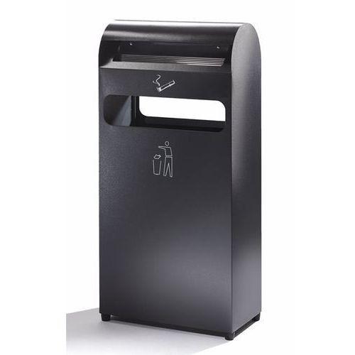 Popielniczka combi, poj. pojemnika na odpady 43,8 l, poj. popielniczki 4,7 l, wy marki B2b europe