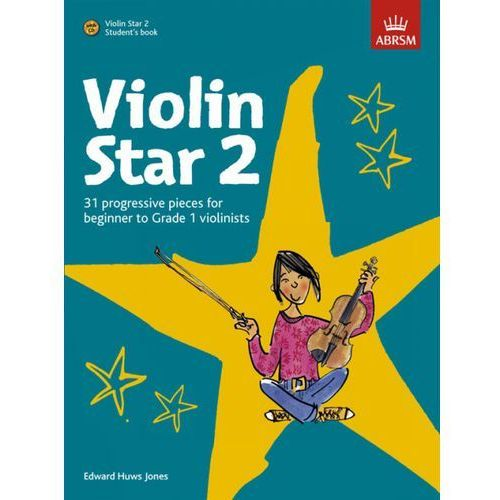 PWM Huws Jones Edward - Violin Star vol. 2 (utwory na skrzypce + CD)