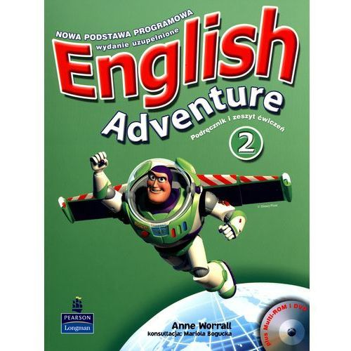 English Adventure 2. Podręcznik i zeszyt ćwiczeń ( + 2 CD), Worrall