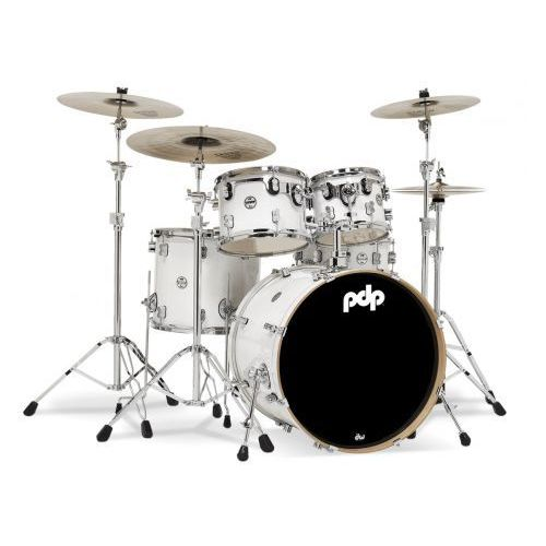 Pdp (pd805905) drumset pearlescent white