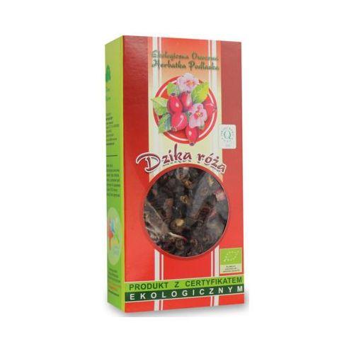 100g herbata z dzikiej róży liściasta bio marki Dary natury