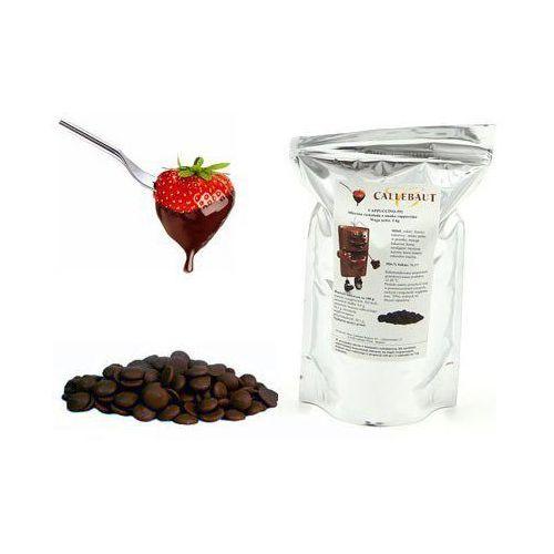 Czekolada cappuccino belgijska do fondue oraz fontann | 1 kg marki Callebaut